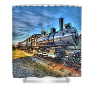 Steam Locomotive No 6 Norfolk And Western Class G-1 Shower Curtain