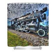 Steam Locomotive No 606 Shower Curtain