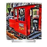 Steam Locomotive Old West V2 Shower Curtain