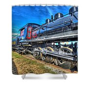 Steam Locomotive Virginian Class Sa No 4 Shower Curtain