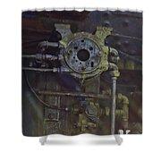 Steam Machine Shower Curtain