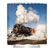 Steam Power Shower Curtain