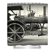 Steam Power Tractor Shower Curtain