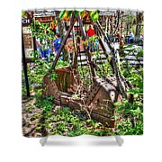 Steam Shovel Bucket Shower Curtain