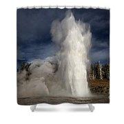 Steam Tower Shower Curtain