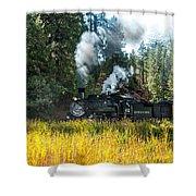 Steam Train 2 Shower Curtain