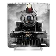 Steam Train Dream Shower Curtain