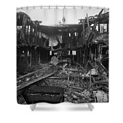 Steamboat Fire, C1910 Shower Curtain