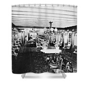 Steamer Interior, C1867 Shower Curtain