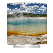 Steaming Shower Curtain