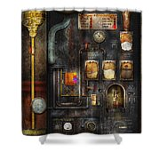 Steampunk - All That For A Cup Of Coffee Shower Curtain