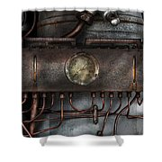 Steampunk - Connections   Shower Curtain