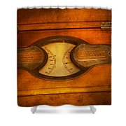 Steampunk - Electrician - The Portable Volt Meter Shower Curtain