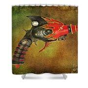 Steampunk - Gun - Electric Raygun Shower Curtain