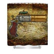 Steampunk - Gun - The Ladies Gun Shower Curtain