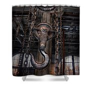 Steampunk - Industrial Strength Shower Curtain