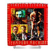 Steampunk Machines Celebrating 200 Years Of Timeless Elegance And Sustainable Innovation 20140515 C7 Shower Curtain