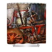 Steampunk - My Transportation Device Shower Curtain