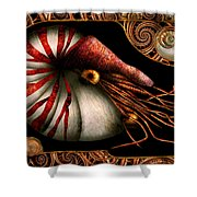 Steampunk - Nautilus - Coming Out Of Your Shell Shower Curtain