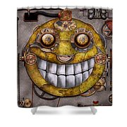 Steampunk - The Joy Of Technology Shower Curtain