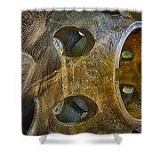 Steampunk Turbine Shower Curtain
