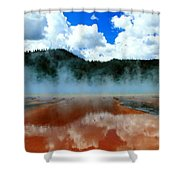 Steams And Reflections Shower Curtain