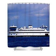 Steamship Authority Ferry Shower Curtain
