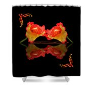 Steamy Hot Lips  Shower Curtain