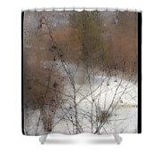Steamy Window Shower Curtain