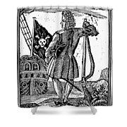 Stede Bonnet (c1688-1718) Shower Curtain