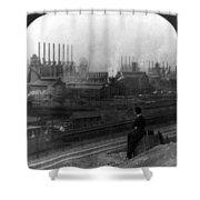 Steel Factory, C1907 Shower Curtain