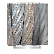 Steel Wire Shower Curtain