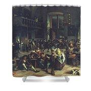 Steen: Merrymaking, 1674 Shower Curtain