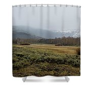 Steens Mountain Landscape - No 2a Shower Curtain