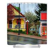 Steep Street Ladysmith Shower Curtain