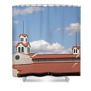 Steeple Chase Shower Curtain