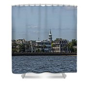Steeple View Shower Curtain