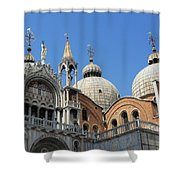 Steeples And Things Shower Curtain