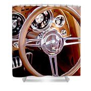 Steering History Shower Curtain
