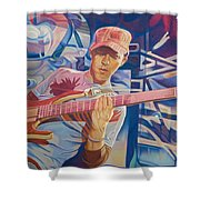 Stefan Lessard And 2006 Lights Shower Curtain