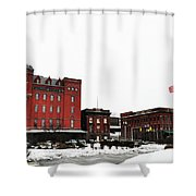 Stegmaeir Brewery - Wilkes Barre Pa Shower Curtain