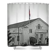 Steilacoom Town Hall Shower Curtain