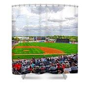 Steinbrenner Field 3 Shower Curtain