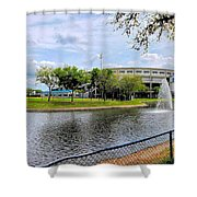 Steinbrenner Field Lake 2 Shower Curtain