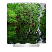 Steinhatchee River Shower Curtain