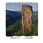 1a5719 Steins Pillar Oregon Shower Curtain