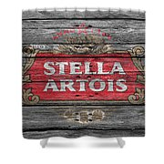 Stella Artois Shower Curtain