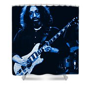 Stella Blue At Winterland Shower Curtain