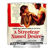 Stellaaaaa - A Streetcar Named Desire Shower Curtain