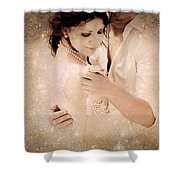 Stellar Couple Dance Shower Curtain